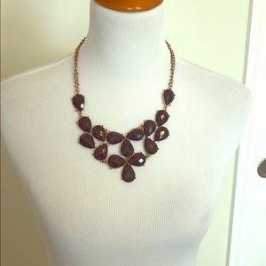 Black statement necklace Dottie Couture